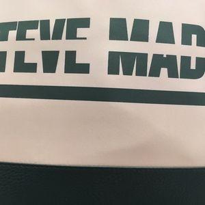 Steve Madden Blush & Black Satchel